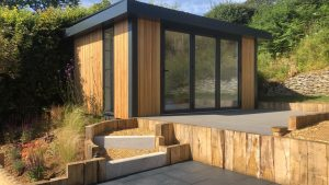 Huub Office built for a customer in Dorset